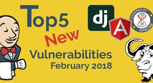 Top 5 New Open Source Vulnerabilities for February 2018