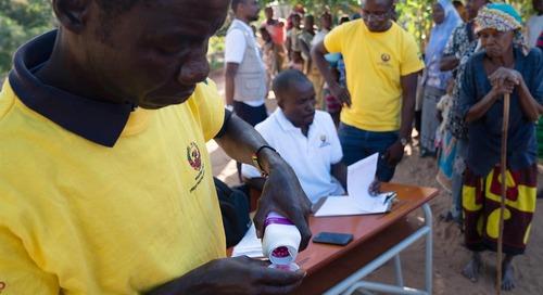 Amid continued progress, trachoma elimination programmes set their sights on 2030