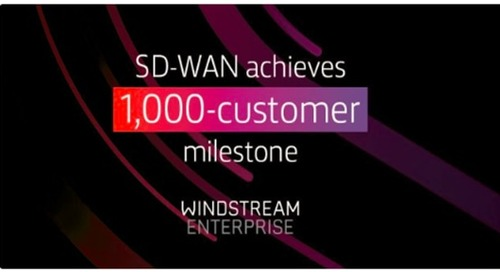 SD-WAN: 1,000 Enterprise Deployments and Counting