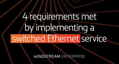 Switched Ethernet: When is it the appropriate solution?