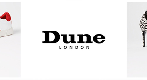 Press Release: DUNE LONDON MAKES WEB PAGES 35% FASTER AND INCREASES ONLINE CONVERSION RATES OVER 4% WITH YOTTAA