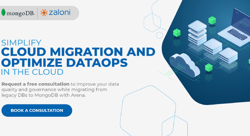 Zaloni Announces Strategic Partnership with MongoDB to Simplify and Secure Cloud Migration Through Unified DataOps