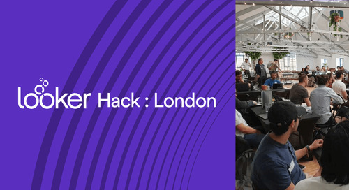 Putting the Hack in Hackathon: The Winners of Looker_Hack : London