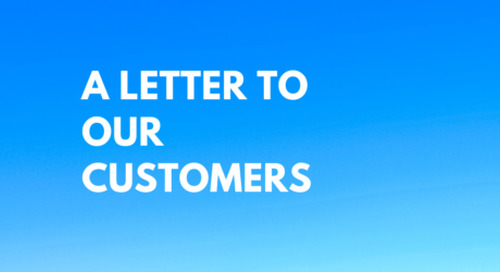 2020-03-16 COVID-19 – Letter to our customers