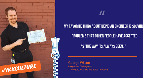 George Wilson talks about his knack for problem solving