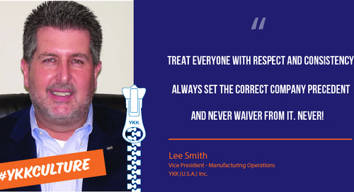 Talking about YKK with Lee Smith